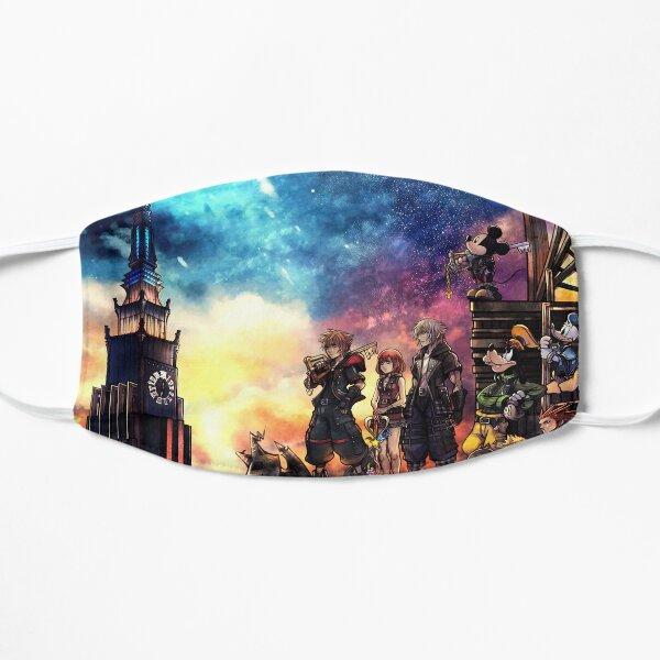 Kingdom Hearts 3 Cover Flat Mask
