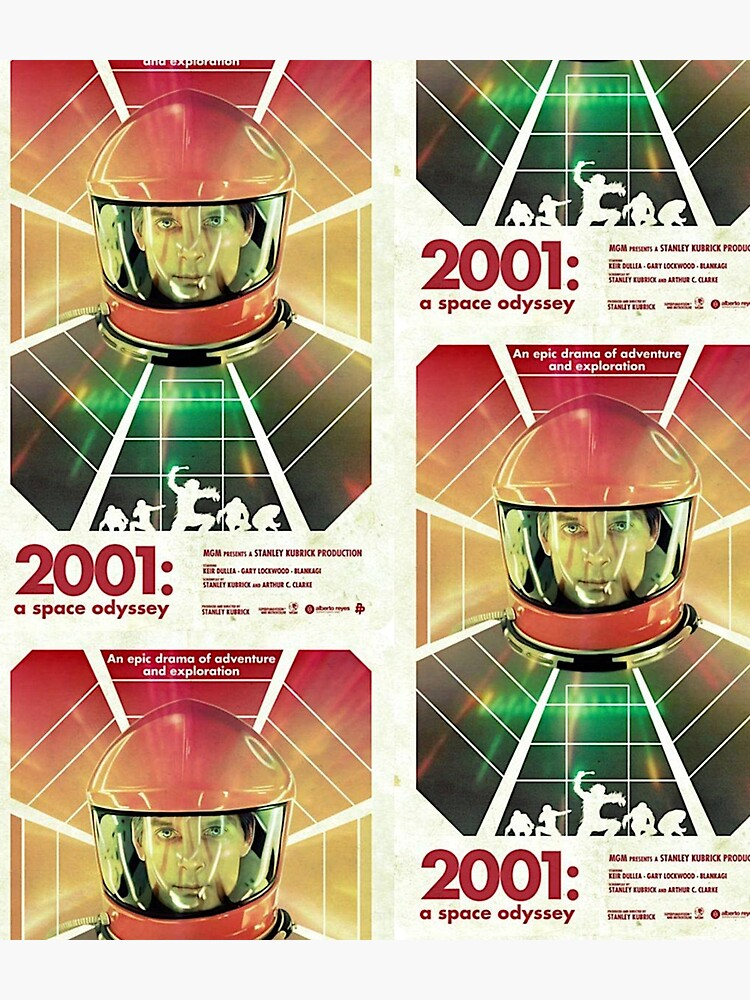 2001: A Space Odyssey - poster by b3nny