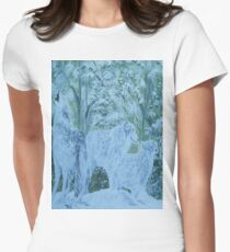 Snow Wolves Women's Fitted T-Shirt