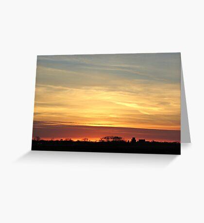 Prairie Glow Greeting Card