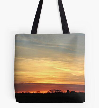 Prairie Glow Tote Bag