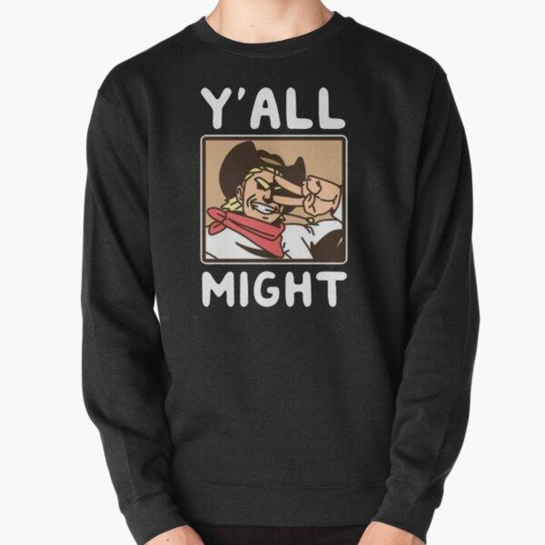 entrant par la porte comme un cow-boy! Montrez votre amour pour All Might Sweatshirt épais