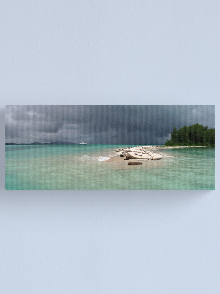 Alternate view of Squall at Hermit Atoll I Canvas Print