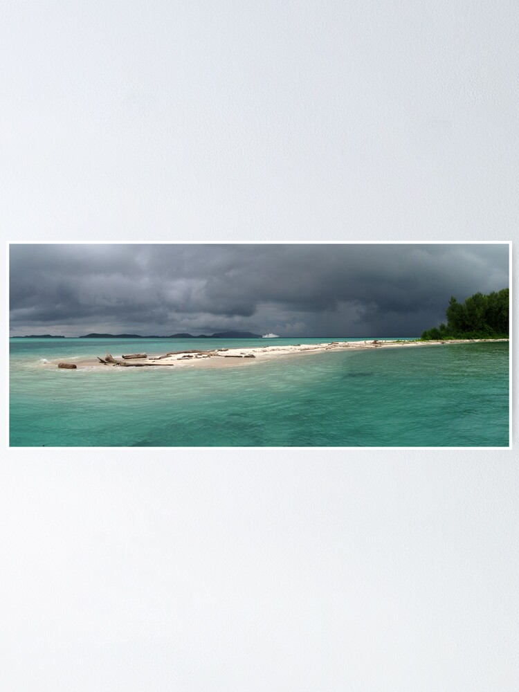 Alternate view of Squall at Hermit Atoll II Poster