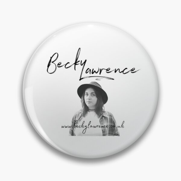 Becky Lawrence Photo Logo  Pin
