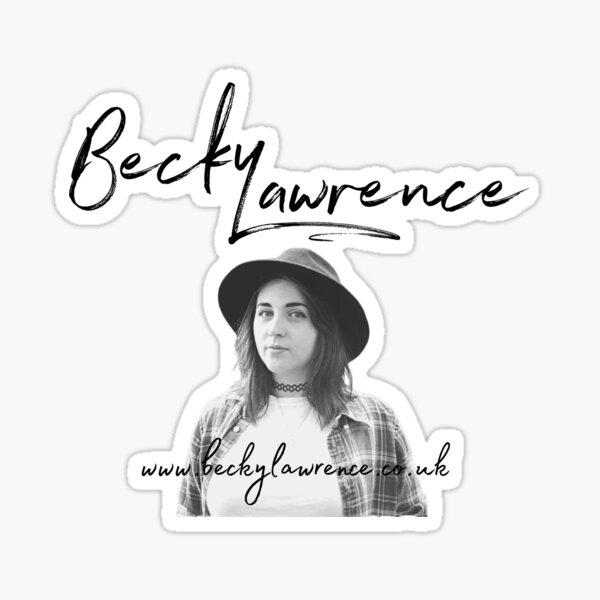 Becky Lawrence Photo Logo  Sticker