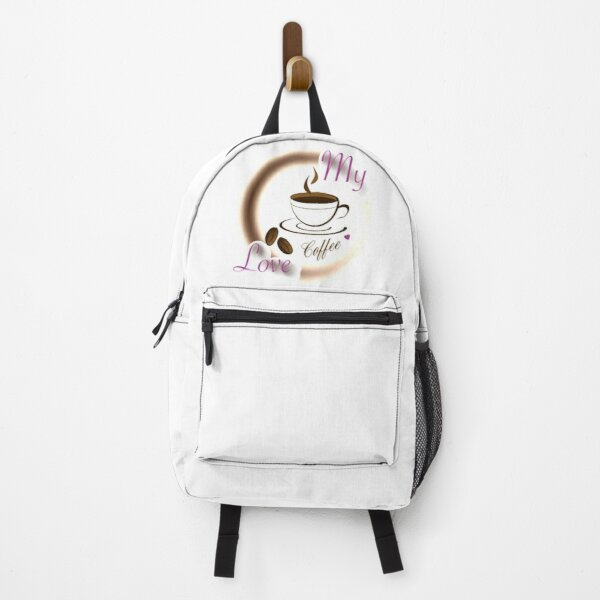 I LOVE MY COFFEE AND MY COFFEE LOVES ME 36 Backpack