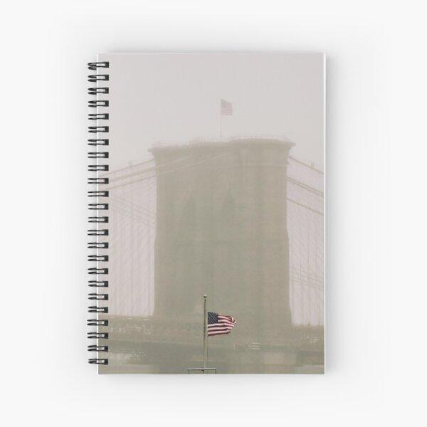 RAINY DAY ON BB Spiral Notebook