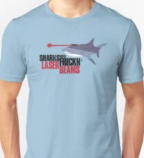 Sharks with frickn laser beams Unisex T-Shirt