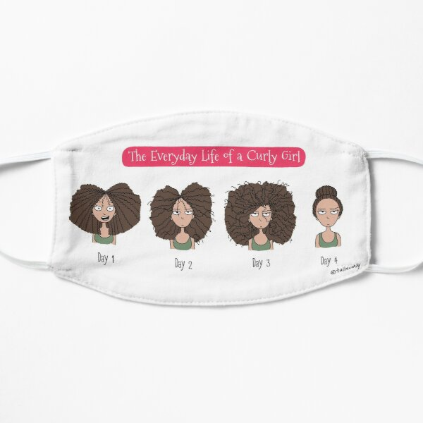 The Everyday Life of a Curly Girl Flat Mask