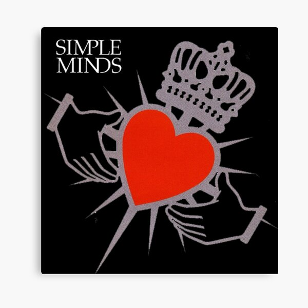 Simple Minds Canvas Print