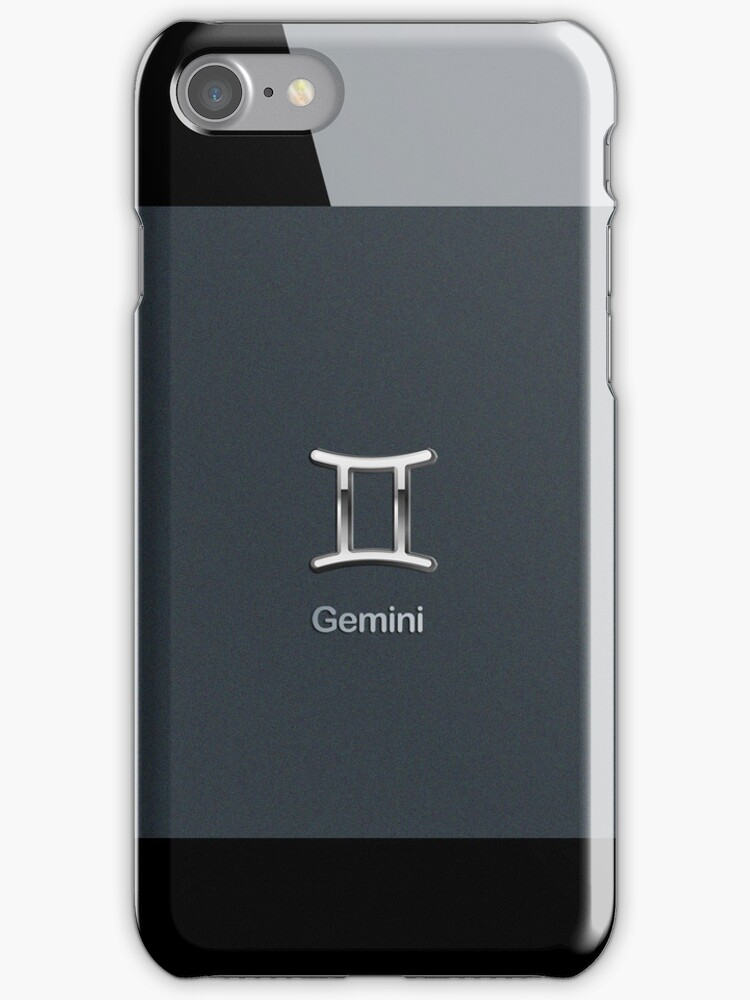 Apple Smart Phone Style with Astrology Gemini Sign | by scottorz