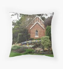 History House Museum Throw Pillow