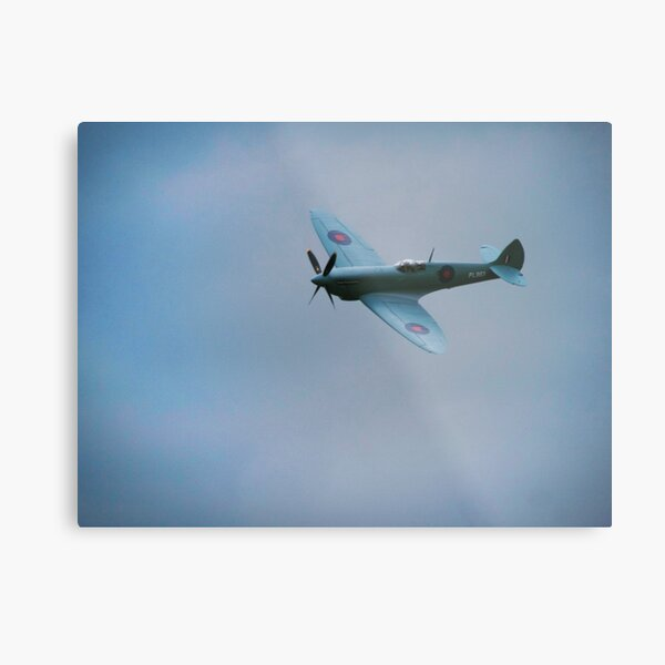 Supermarine Spitfire Metal Print