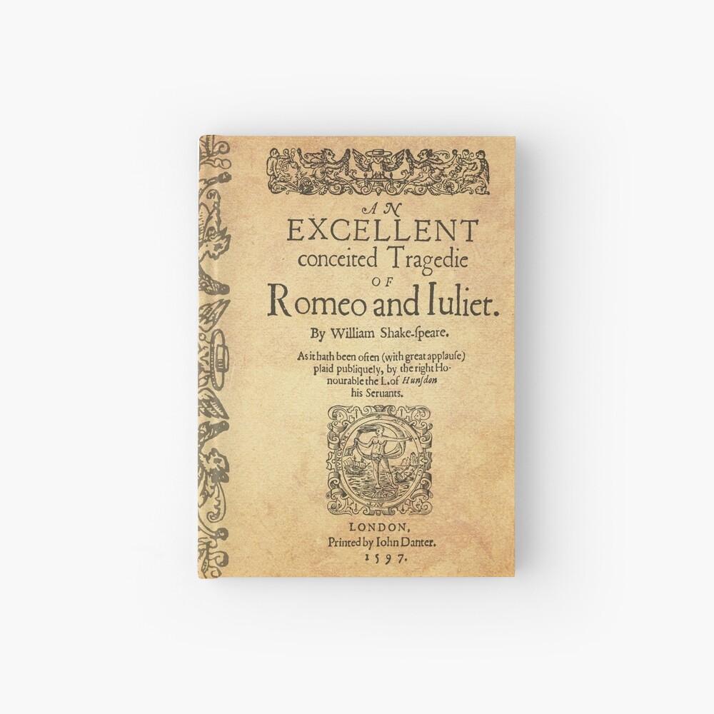 Shakespeare, Romeo and Juliet 1597 Cuaderno de tapa dura