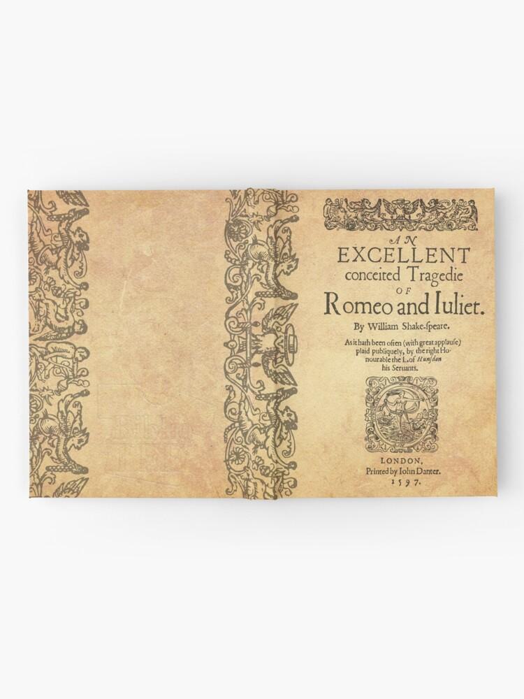Vista alternativa de Cuaderno de tapa dura Shakespeare, Romeo and Juliet 1597