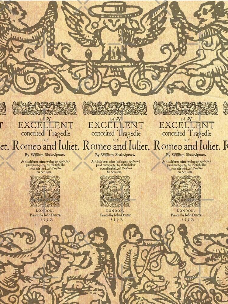 Shakespeare, Romeo and Juliet 1597 de bibliotee