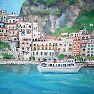 The Amalfi Coast by Teresa Dominici