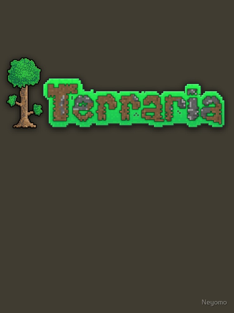 Terraria Logo Unisex T Shirt A T Shirt Of Logo Game Pc Wizard King Monster Computer Game Eye Android Lord Moon Cthulhu Pixel Wood Pixels Boss Terra Blob Slime Minecraft Golem Ios Npc Terraria seeds for 1.3.5.3 (or tmodloader), new pyramid and enchanted sword record (7p&5s). t shirt gifter
