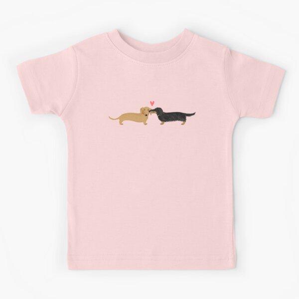 Dackel Liebe Kinder T-Shirt
