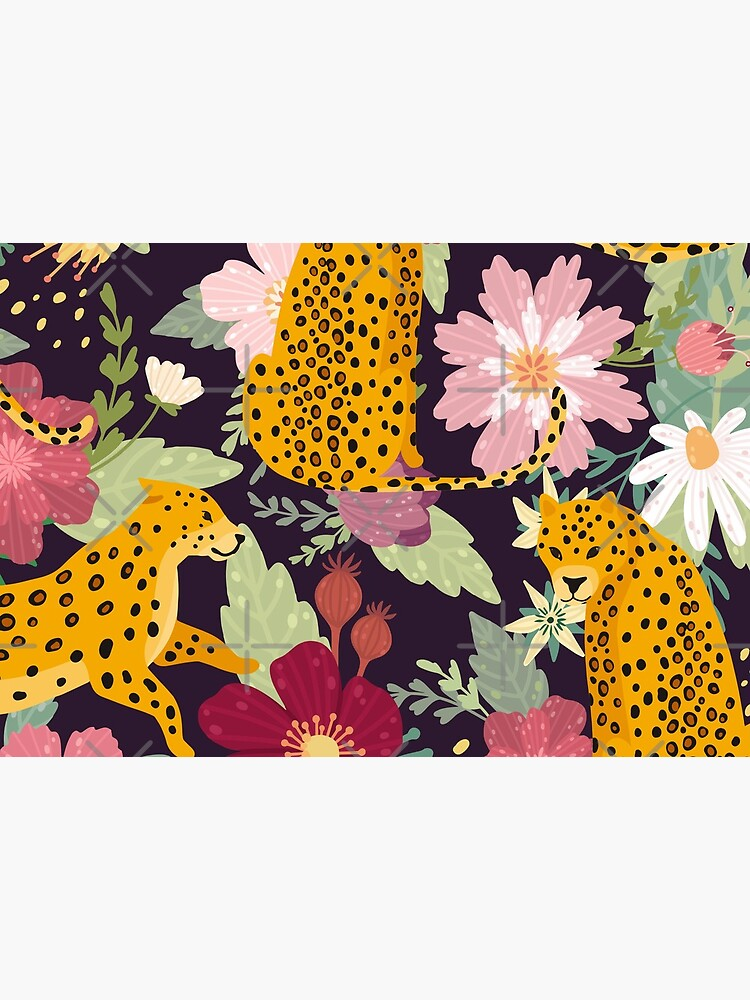 floral leopard by haroulita