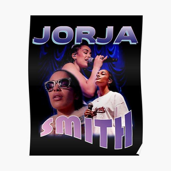 jorja smith bootleg tee shirt merch Poster