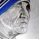 Mother Teresa. by Sesha