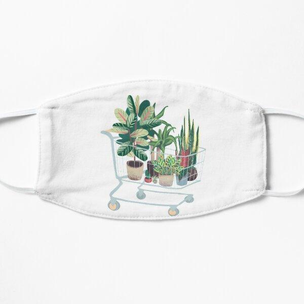 Plant friends Flat Mask