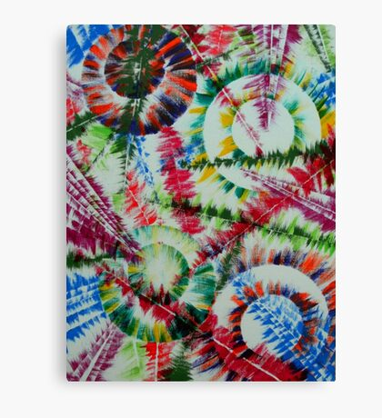 The Repose of the Circle Fish Canvas Print