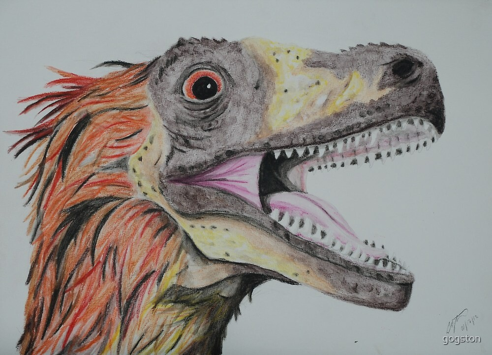Feathered Dinosaur by gogston