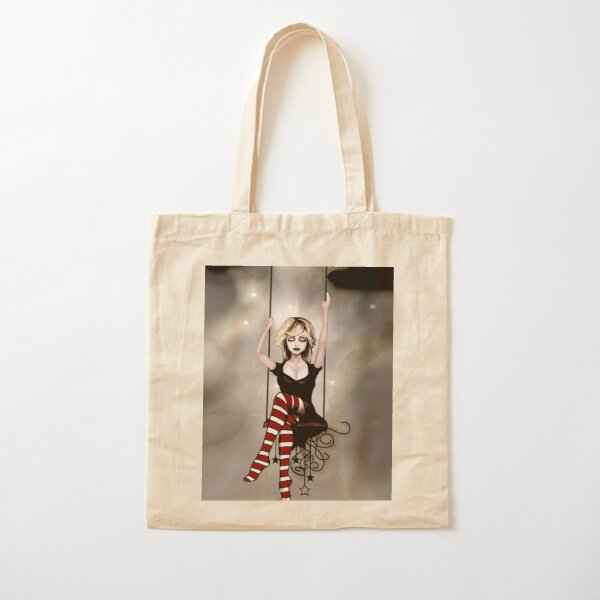 From up Here. Cotton Tote Bag