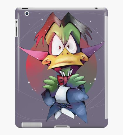 Count Duckula iPad Case/Skin