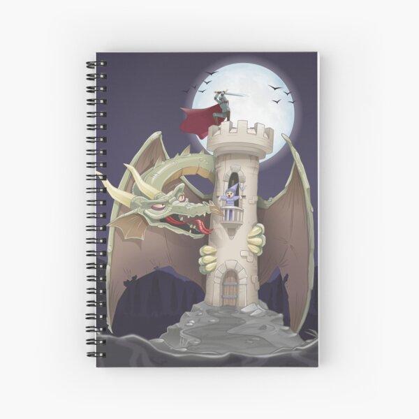 Dragon Trap Spiral Notebook