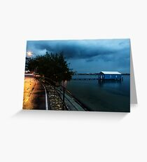 Lonely in the Night Greeting Card