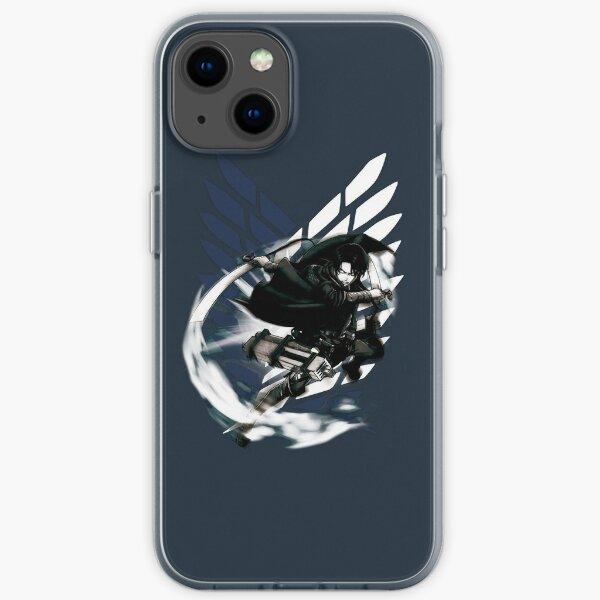 Shingeki no Kyojin - Levi Ackerman iPhone Flexible Hülle