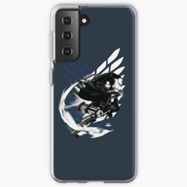Shingeki no Kyojin - Levi Ackerman Coque souple Samsung Galaxy