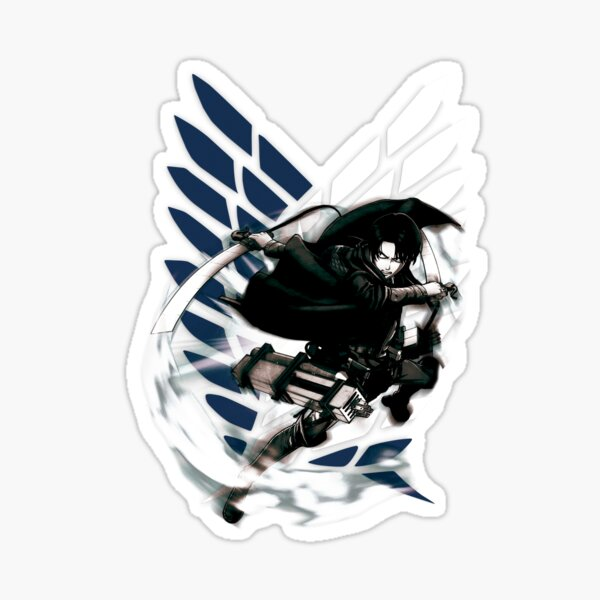 Shingeki no Kyojin - Levi Ackerman Sticker