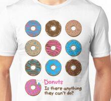 Mmmm donuts! Unisex T-Shirt