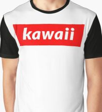 Kawaii Grafik T-Shirt