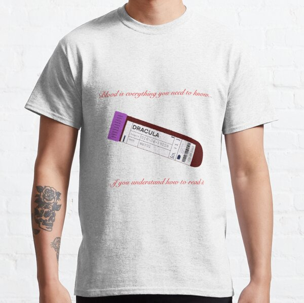 Dracula -Claes Bang (Blood Sample) Classic T-Shirt