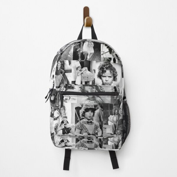 Shirley Temple Collage Backpack