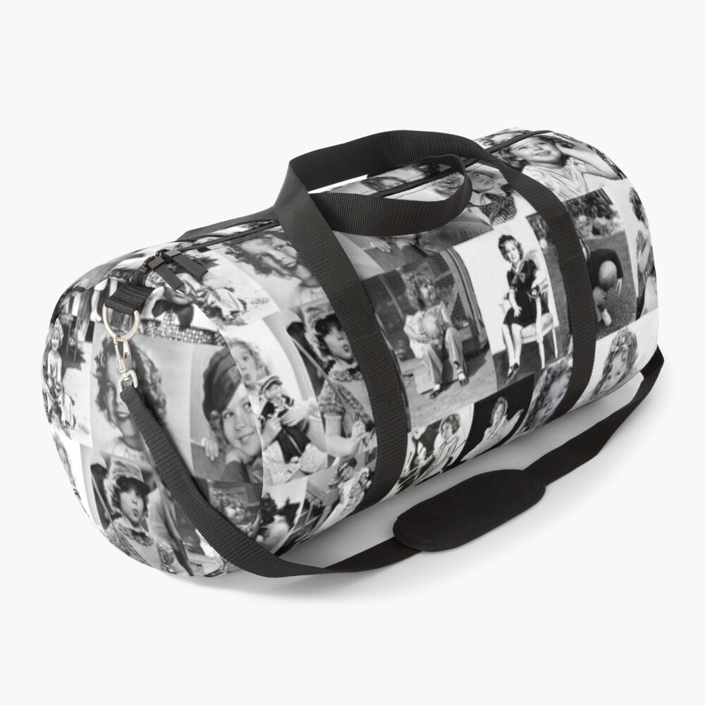 Shirley Temple Collage Duffle Bag