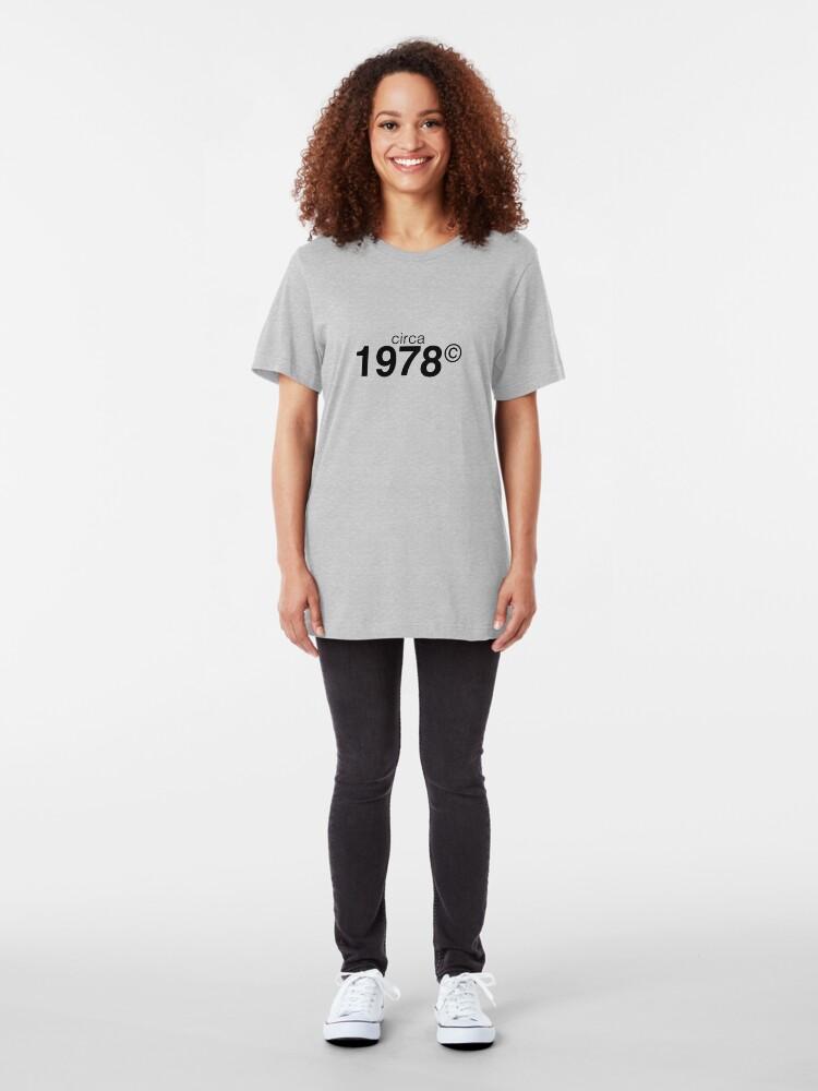Alternate view of 1978 Slim Fit T-Shirt