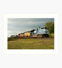 Union Pacific Heritage Locomotive Art Print