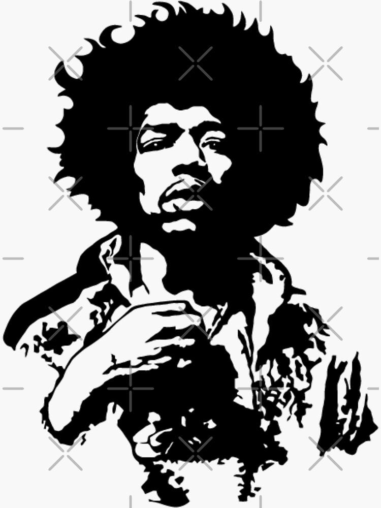 Jimi Hendrix by Sara-mo