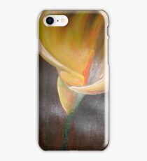 Golden Easter Lily iPhone Case/Skin