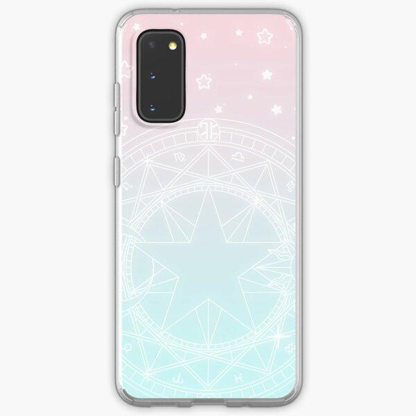 Cardcaptor Sakura Pink & Teal Stars Samsung Galaxy Soft Case