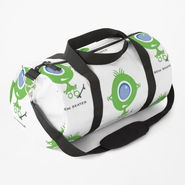 Bebe, the alien skater Duffle Bag