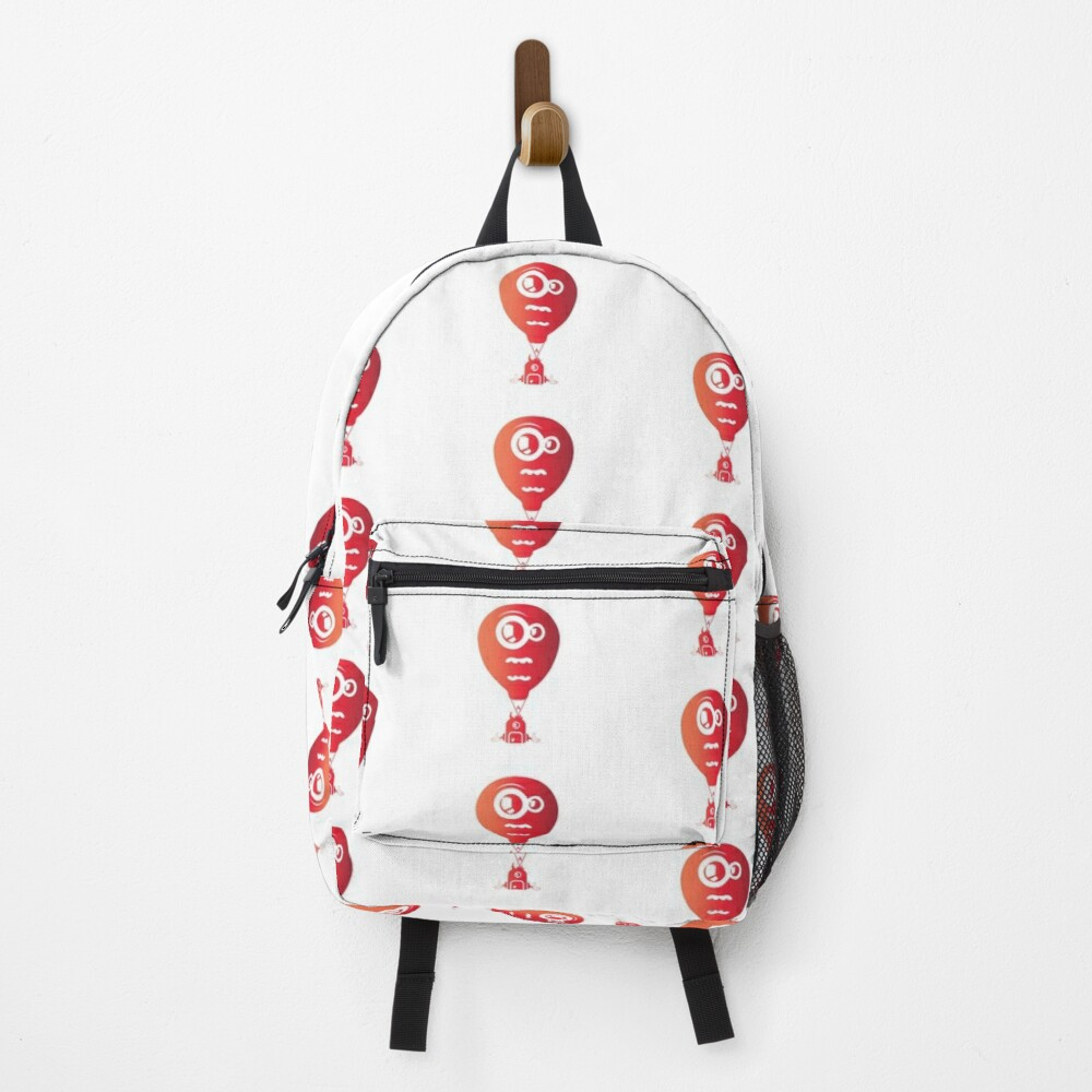 Crazy looking hot air balloon Backpack