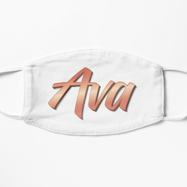 Ava My Name is Ava!  Mask